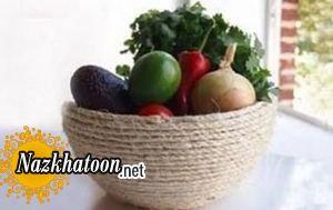 ایده دیدنی برای سبد میوه رومیزی