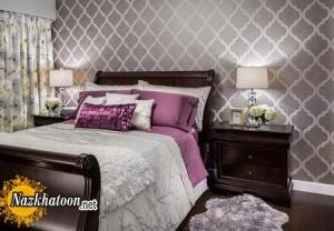 دکوراسیون زیبا و شیک از اتاق خواب