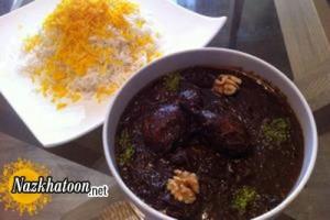 روش تهیه خورش فسنجان با قارچ