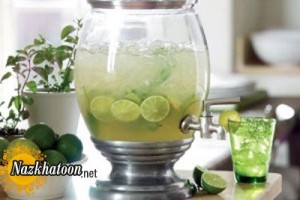 لیموناد خانگی مخصوص تابستان
