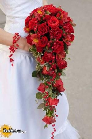 مدل های دوست داشتنی دسته گل آویز عروس – 12