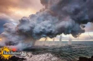 عکس های زیبا و دیدنی از خشم طبیعت
