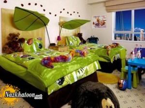 توصیه هایی برای دکوراسیون اتاق مشترک برای کودکان