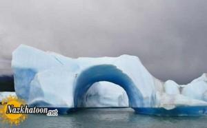 عکس هایی از توده های یخ شناور قطبی