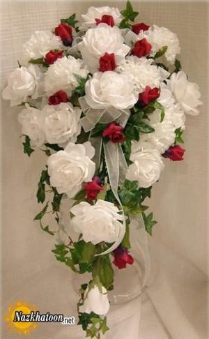 مدل های زیبای دسته گل عروس – 17