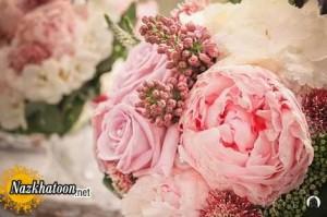 مدل های شیک دسته گل عروس – 15