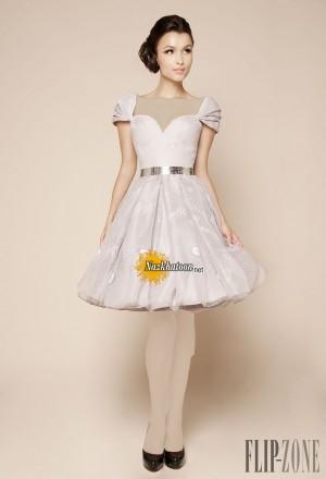 مدل لباس مجلسی کوتاه – 42