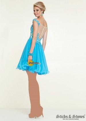 مدل لباس مجلسی کوتاه – 44