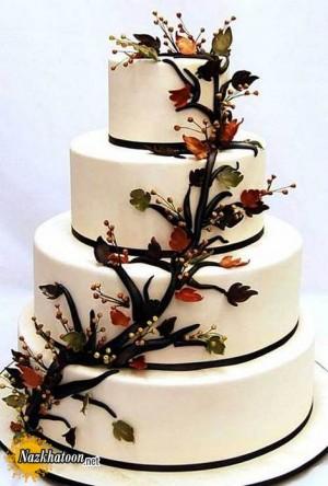 مدل های کیک عروسی برای پاییز – سری 1