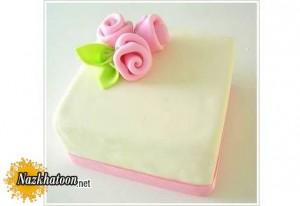 آموزش ساخت گل رز برای تزیین کیک