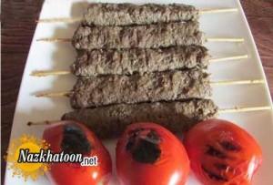 آموزش پخت کباب کوبیده سیخی