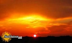 عکس های زیبا از غروب خورشید