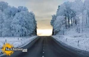 عکس های زیبا از طبیعت برفی فصل زمستان