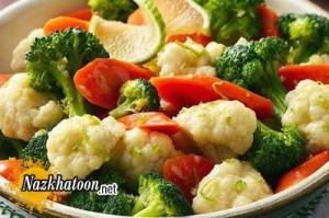 صحیح ترین روش برای سرخ کردن پیاز و سبزیجات
