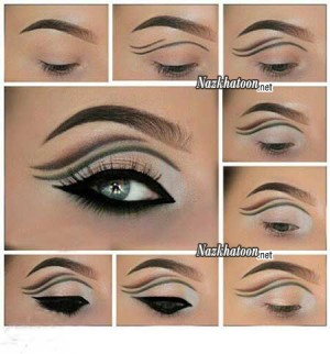 آرایش چشم – مدل 45