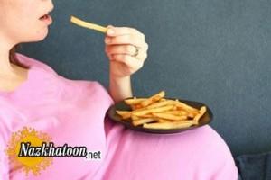 خانم های باردار چه قدر غذا بخورند؟
