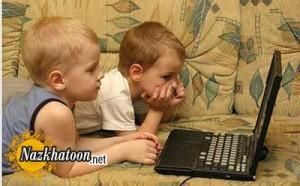 معرفی خطرات شایع اینترنت برای کودکان