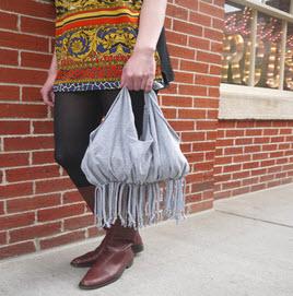 آموزش دوخت کیف با تیشرت های قدیمی