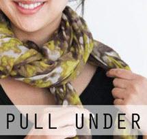 ایده جالب بستن شال گردن