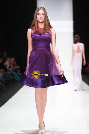 مدل لباس مجلسی کوتاه – 53