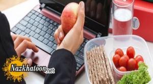 یک رژیم غذایی متعادل برای شاغل ها