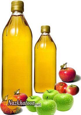 آشنایی با اثرات سرکه سیب بر پوست