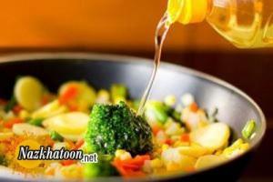 روش سرخ کردن غذا با کمترین روغن