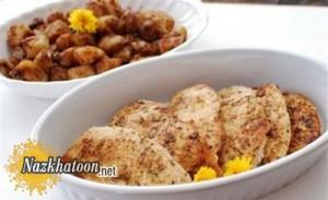 روش تهیه مرغ سرخ شده با لیمو عمانی