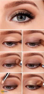 آرایش چشم – مدل 46