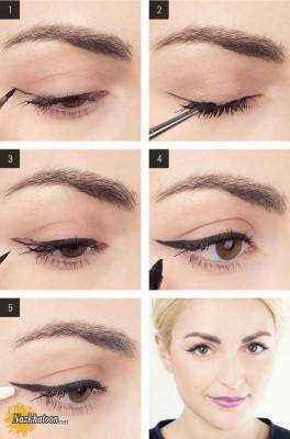 آرایش چشم – مدل 50