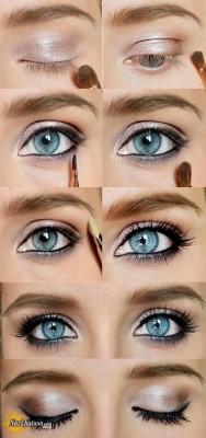 آرایش چشم – مدل 48