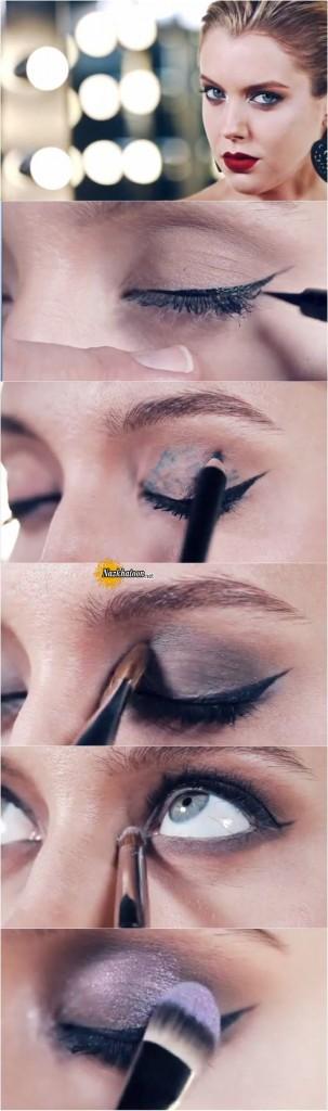 آرایش چشم – مدل 52