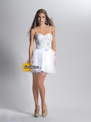 مدل لباس مجلسی کوتاه – 60