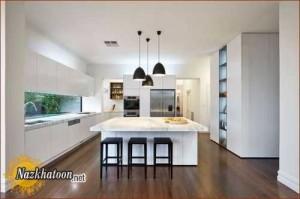 مدل دکوراسیون آشپزخانه شیک و زیبا
