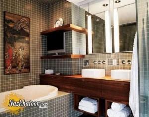 مدل دکوراسیون حمام های کوچک