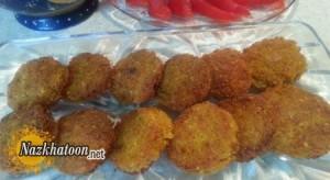 تهیه فلافل نخود و هویج