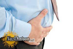 درمان نفخ شکم به روش خانگی