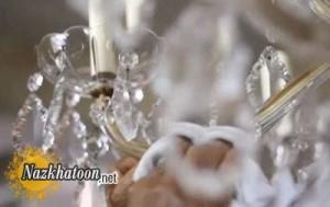 آموزش تمیز کردن لوسترهای کریستالی