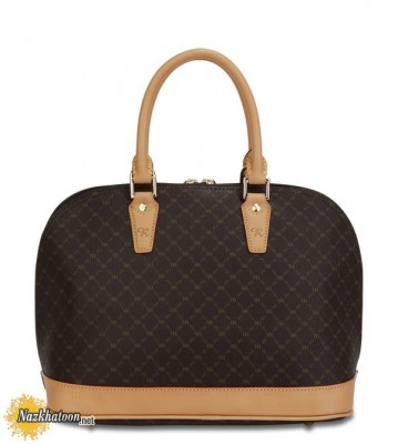 signature-brown-dome-handle-bag-back