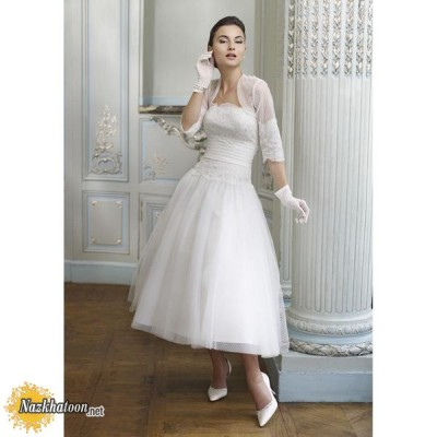 tea-length-wedding-gown