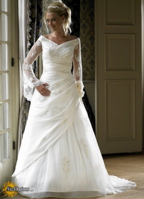 wedding-gown-with-sleeves
