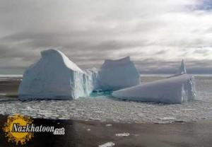 تصاویر زیبا از توده های یخ شناور قطبی – سری 1