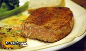روش تهیه استیک ماهی تن مزه دار