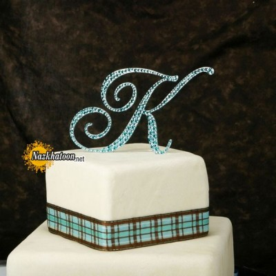 monogram-wedding-cake-toppers