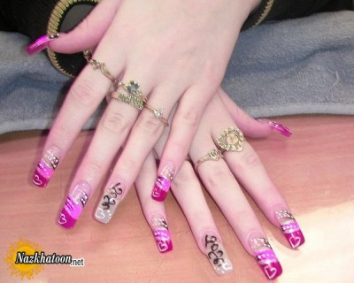 nail-polish-latest-designs-pink