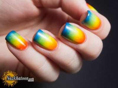 rainbow-nail-polish-design