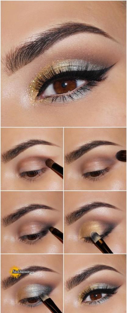 آرایش چشم – مدل 67