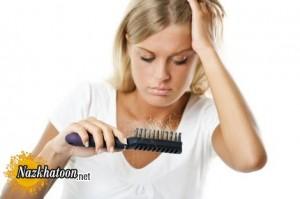 درمان و دلایل ریزش مو