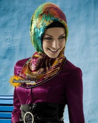 مدل شال و روسری – ۱۴