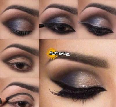 آرایش چشم – مدل 73